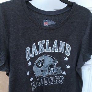 """Graphic """"Raiders"""" Short Sleeve Tee"""